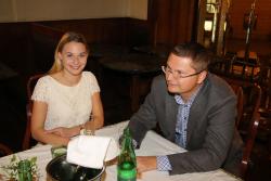Sabina Štaubertová a Leos Anderle